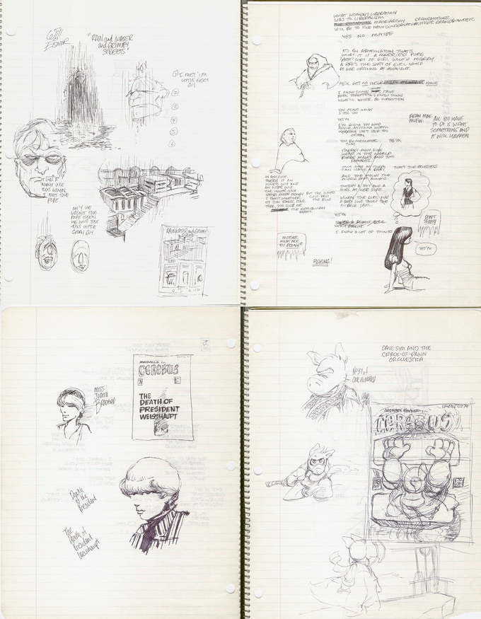 Pages from Notebook Five