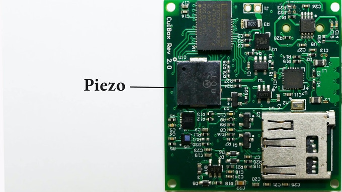 On-Board Piezo Speaker