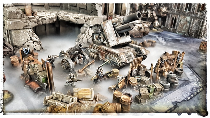 Kraken Scatter Terrain - for 28 mm tabletop wargames by Tobias