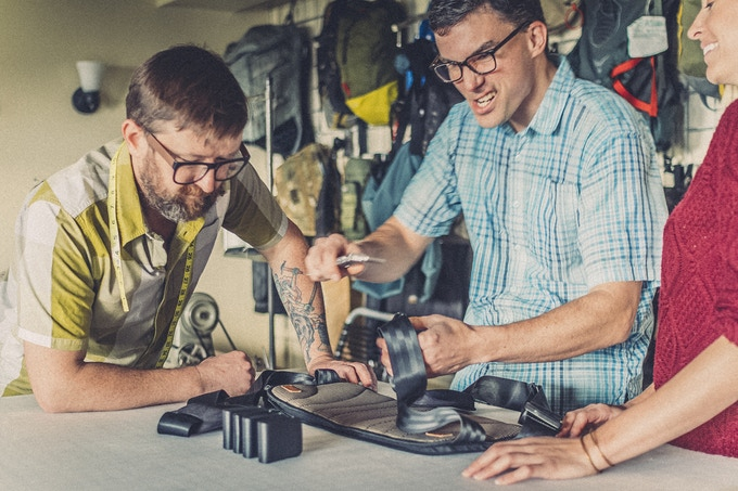 Andy & Josh, the amazing BetterBack Industrial Design team :-)