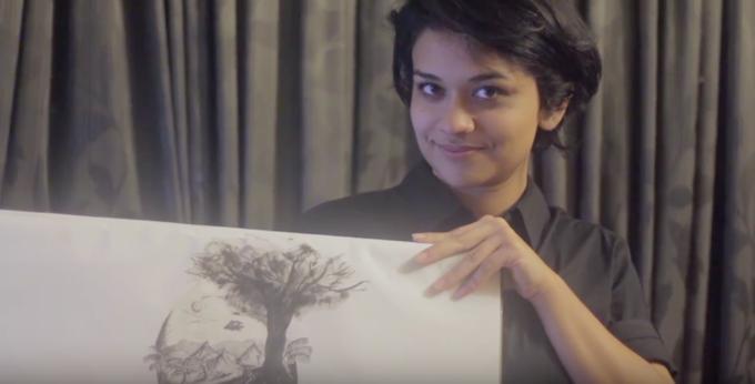 Dibarah Mahmoob, Illustrator, Dhaka