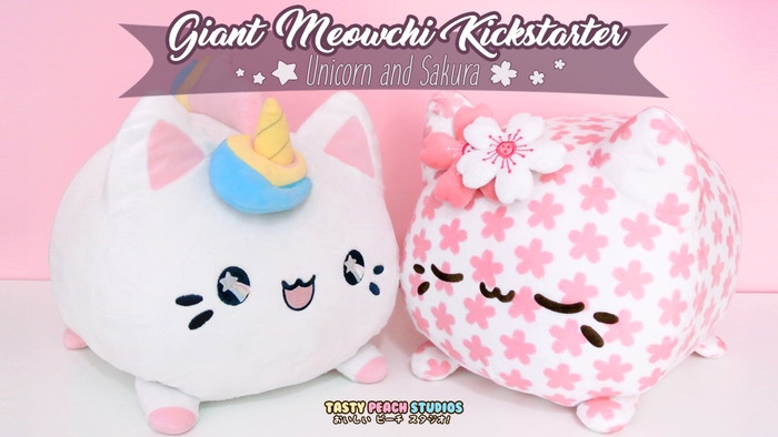 Giant Meowchi were funded and sold out from Kickstarter, but you can Pre-order on Indiegogo NOW!