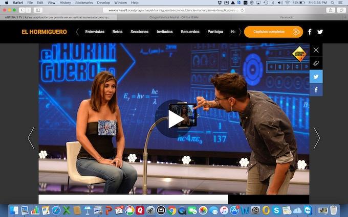ILLUSIO CEO on Spanish TV program, El Hormiguero