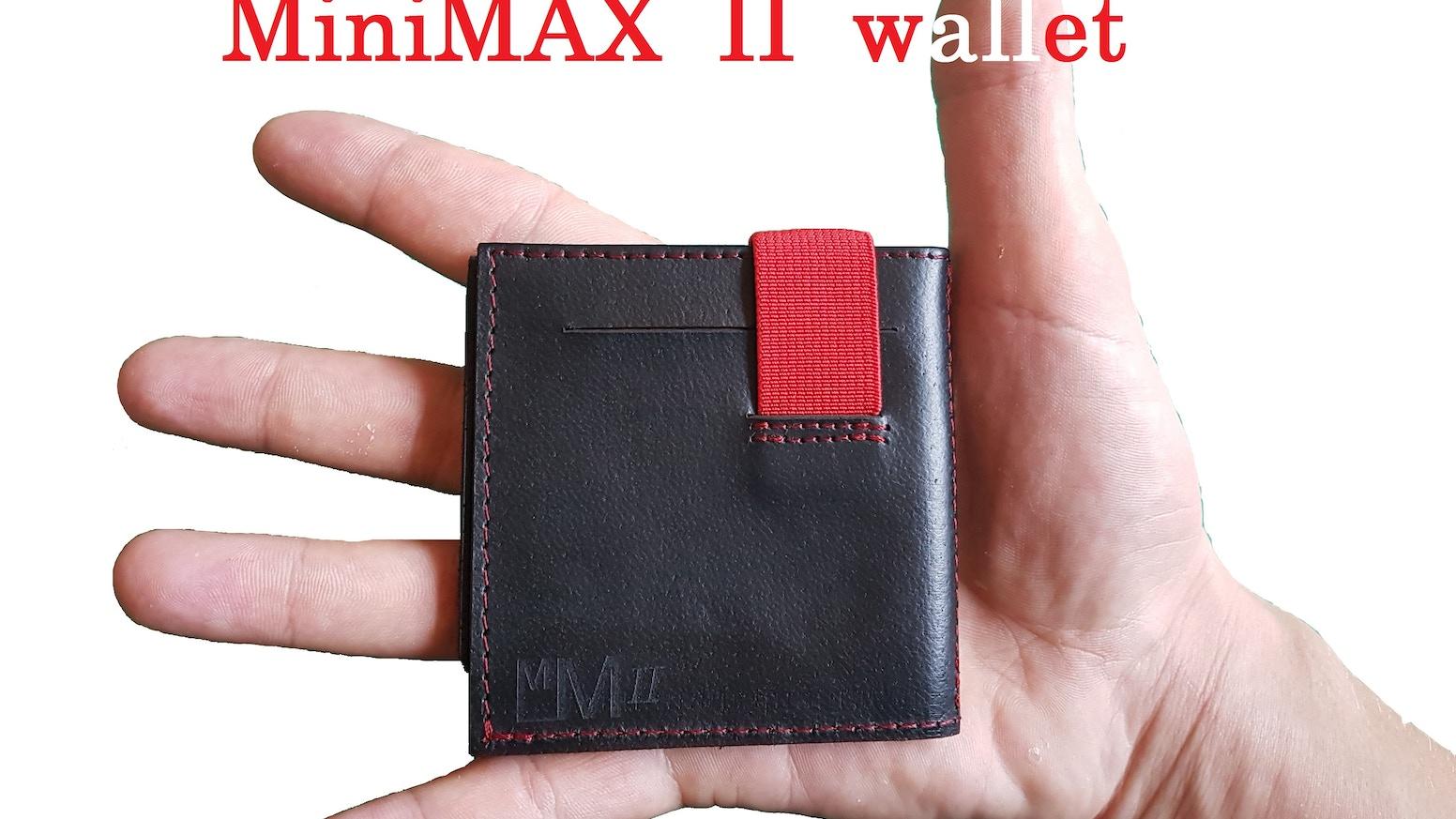 d66c392c6 SEMI-Minimalist leather WALLET for Cash, Cards and COINS! UNIQUE design I  Unique