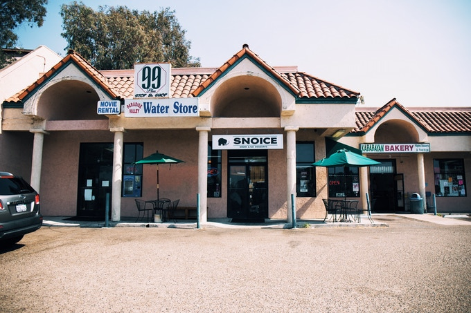The Snoice storefront.
