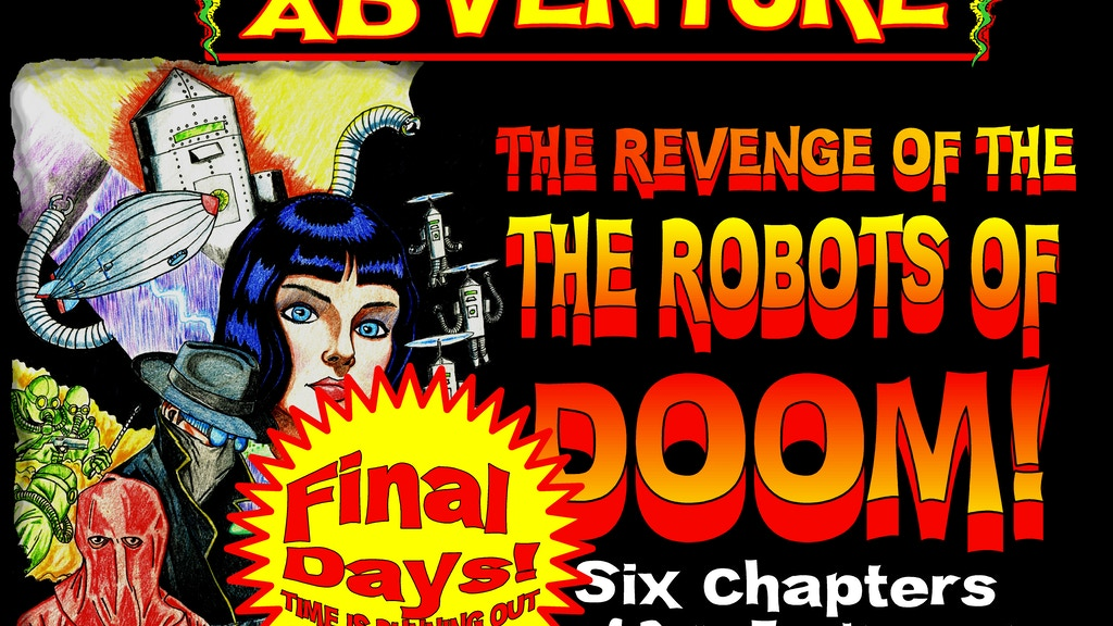 The Revenge of the Robots of Doom! project video thumbnail