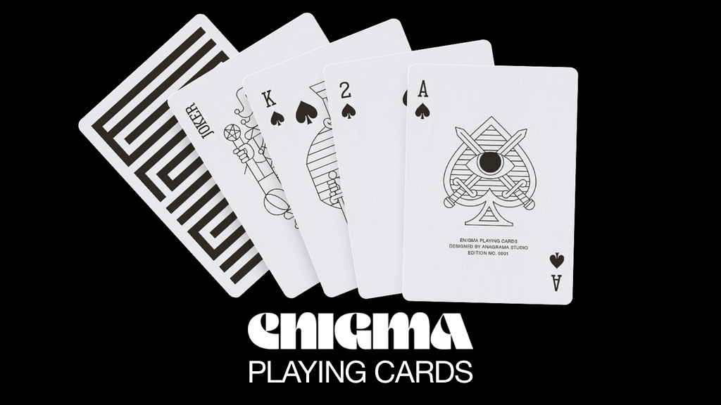 Enigma Playing Cards by Enigmacards project video thumbnail