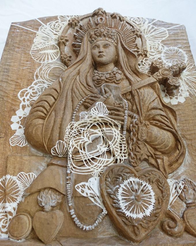 $3,500 - Collaborative mixed media sculpture