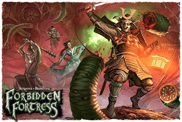 Details about SHOGUN KICKSTARTER PLEDGE For Shadows Of Brimstone: Forbidden  Fortress - NEW!