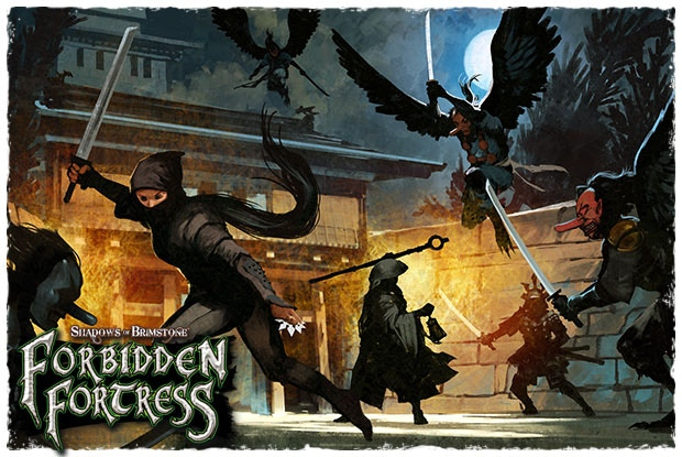 Details about SHOGUN KICKSTARTER PLEDGE For Shadows Of Brimstone: Forbidden  Fortress - NEW!