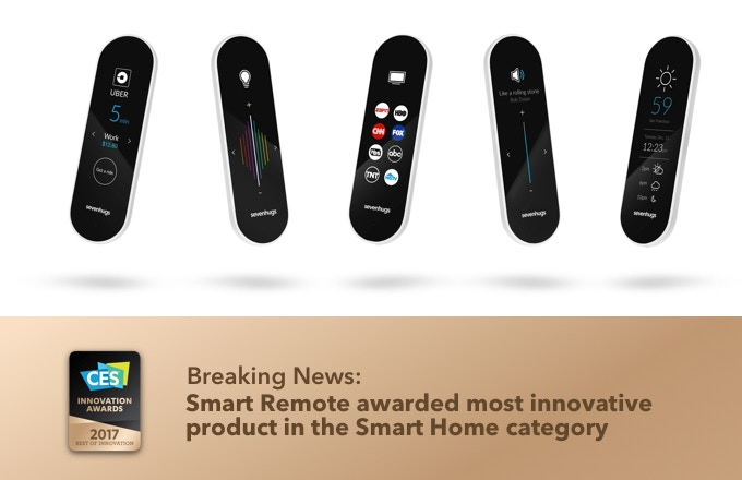 Sevenhugs Smart Remote: The First Remote for Everything by