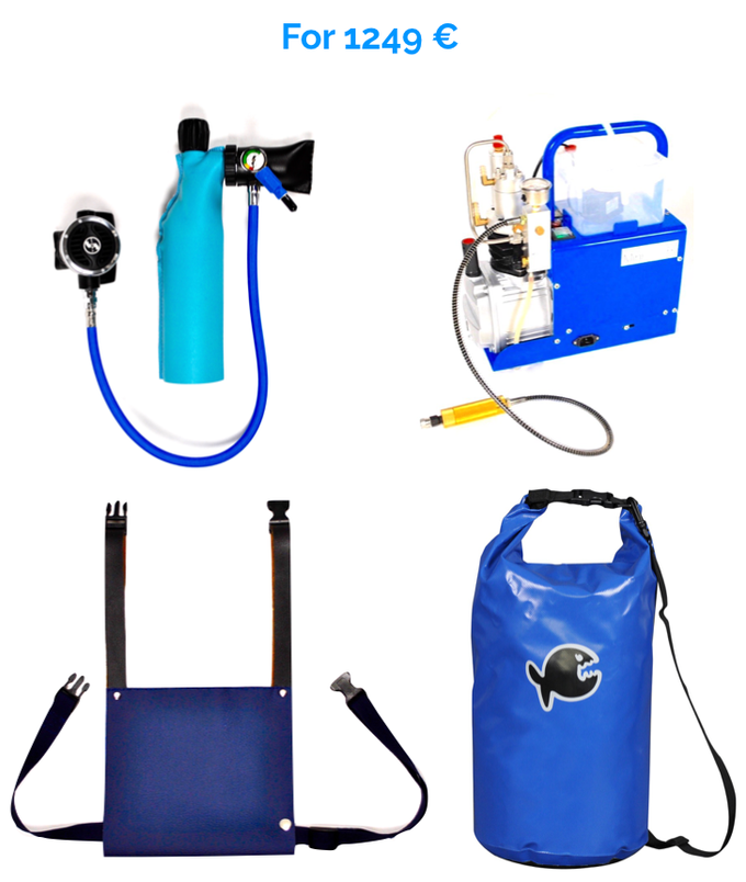 MiniDive • The first mini scuba tank refilled by the user by