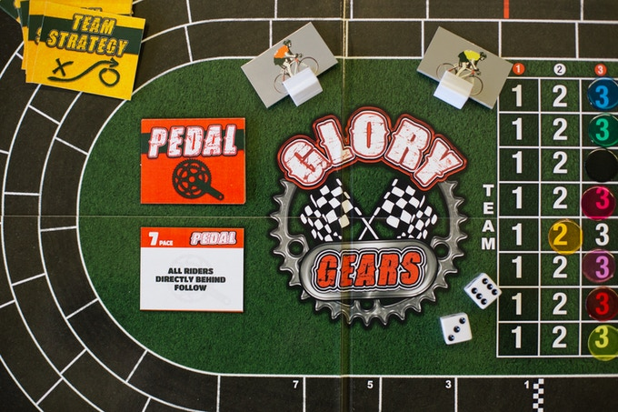 GLORY GEARS CARDS, RIDERS, LAP MARKERS