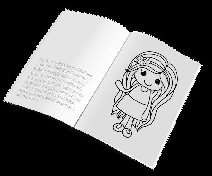 Coloring book. Libro para colorear