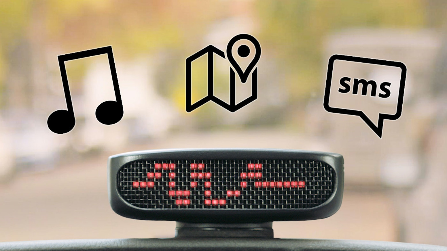 We introduce you to Voder, an AI-powered hands-free car accessory. Due to a trademark dispute, the name Dashbot* has been retired.               *Next Thing Co. is not affiliated with or sponsored or endorsed by Dashbot, Inc.