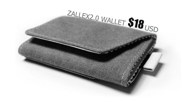 Zallex2.0 slim wallet