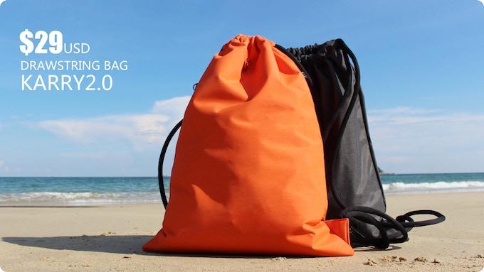 Karry2.0 drawstring bag