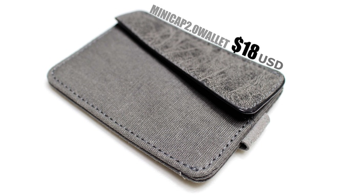 MiniCap2.0 slim wallet