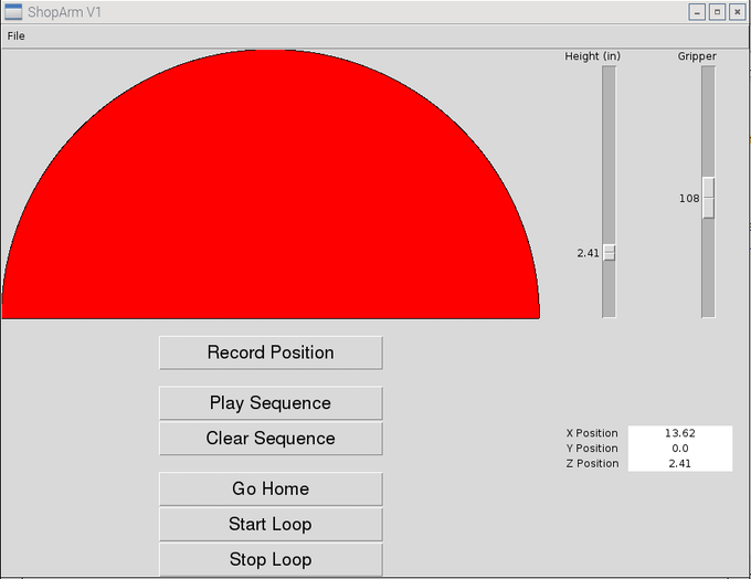 The Current Version of the Basic GUI