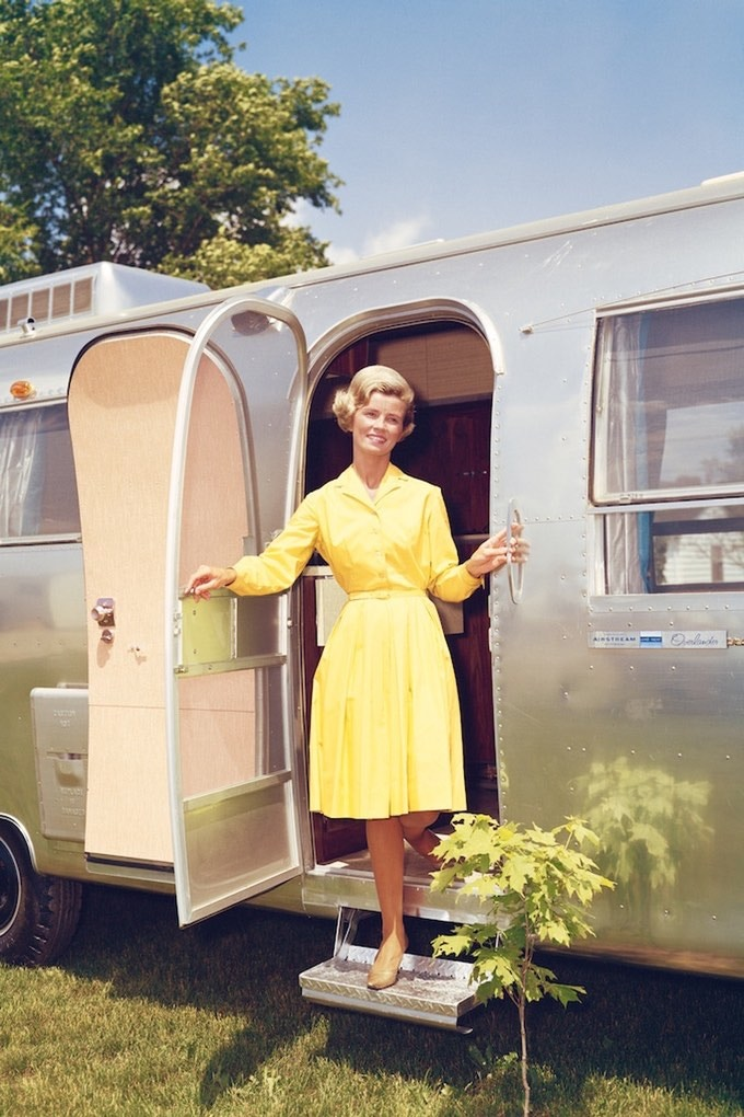 """Miss Airstream"" (Image #1-16""x24"") - Type-C Photographic Print by Ardean R. Miller - See ""Rewards Note #2"" (above) for 11""x14"" info. Image Copyright Thor Tech, Inc. Used with permission."