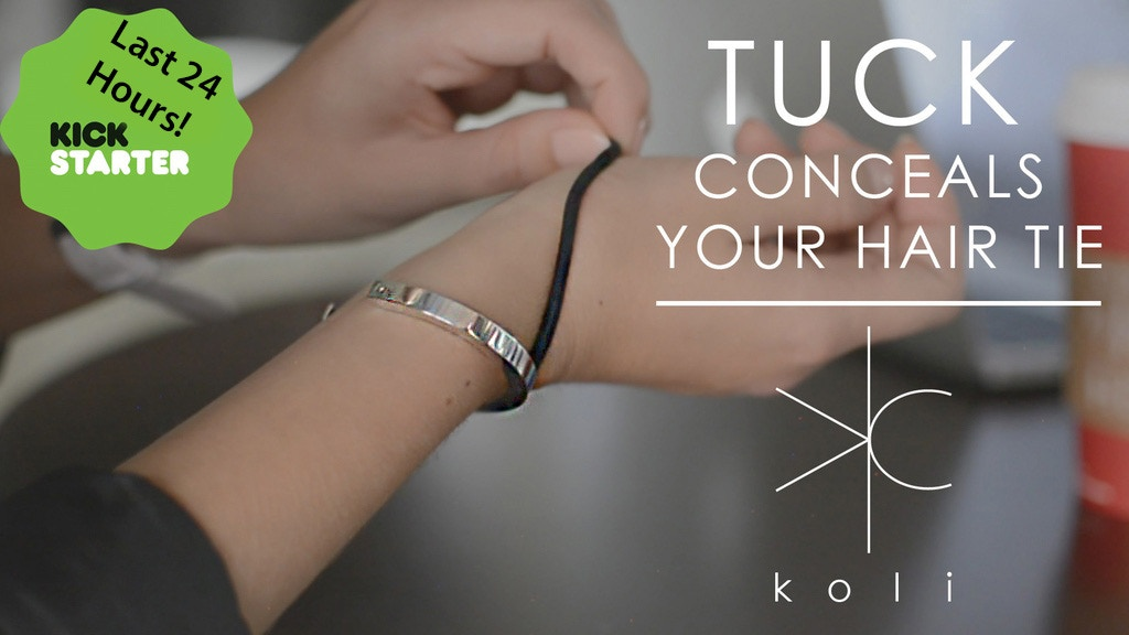 TUCK by Koli: First Ever Bracelet To Conceal Your Hair Tie project video thumbnail