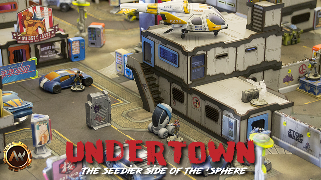 Undertown - The seedier side of the 'sphere. project video thumbnail