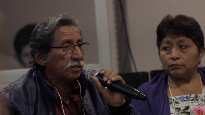 En un foro internacional don Gustavo Huchín, representan indígena exige sean respetados los derechos del pueblo maya.