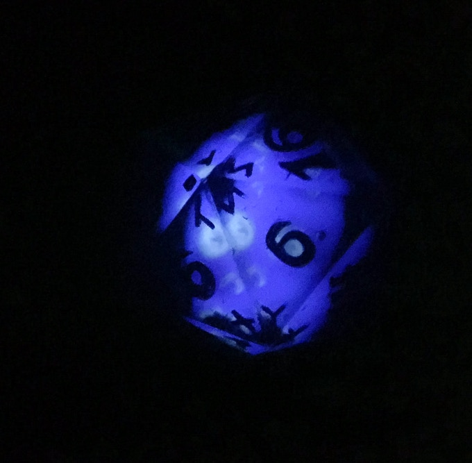 Large skull die at night