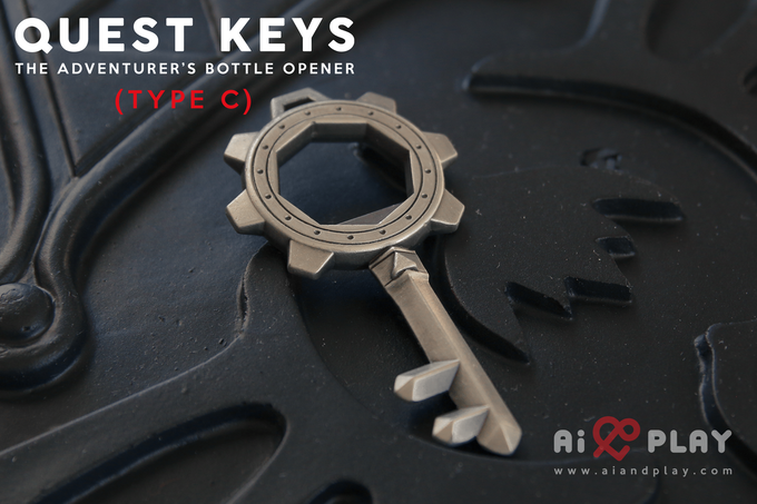 Quest Keys The Adventurer S Bottle Opener By Ai And