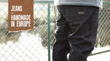 Vresh Jeans. Handmade in Europe.