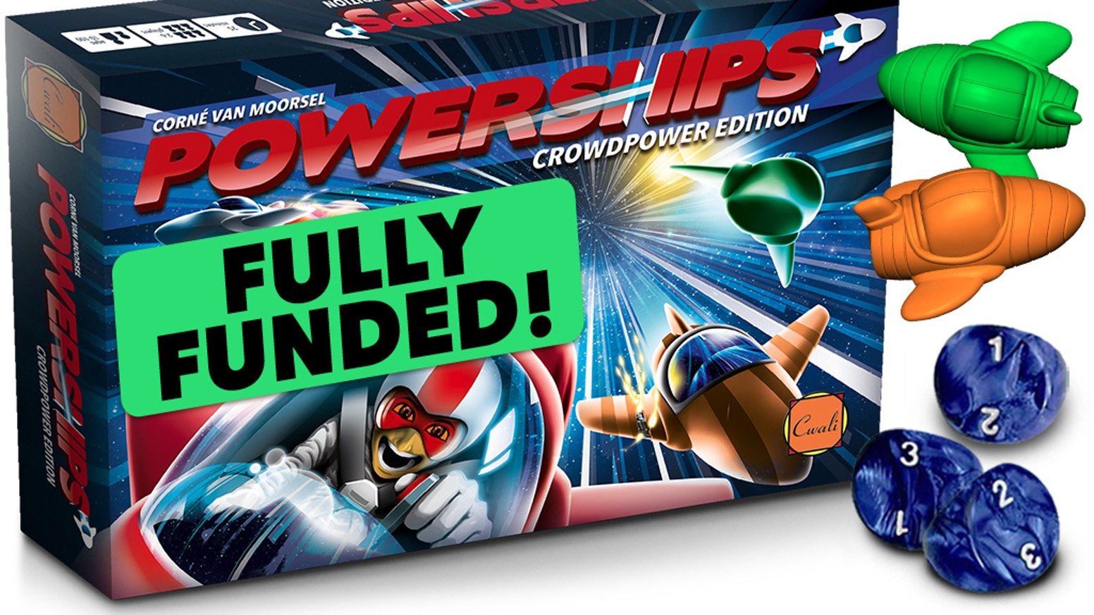 Navigate your powership through the solar system! --- Sold out. --- Below link is for the *Roll to the Top!* crowdfund.