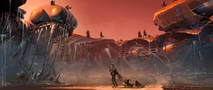 Concept Art by Mathieu Vavril & Seth Ickerman