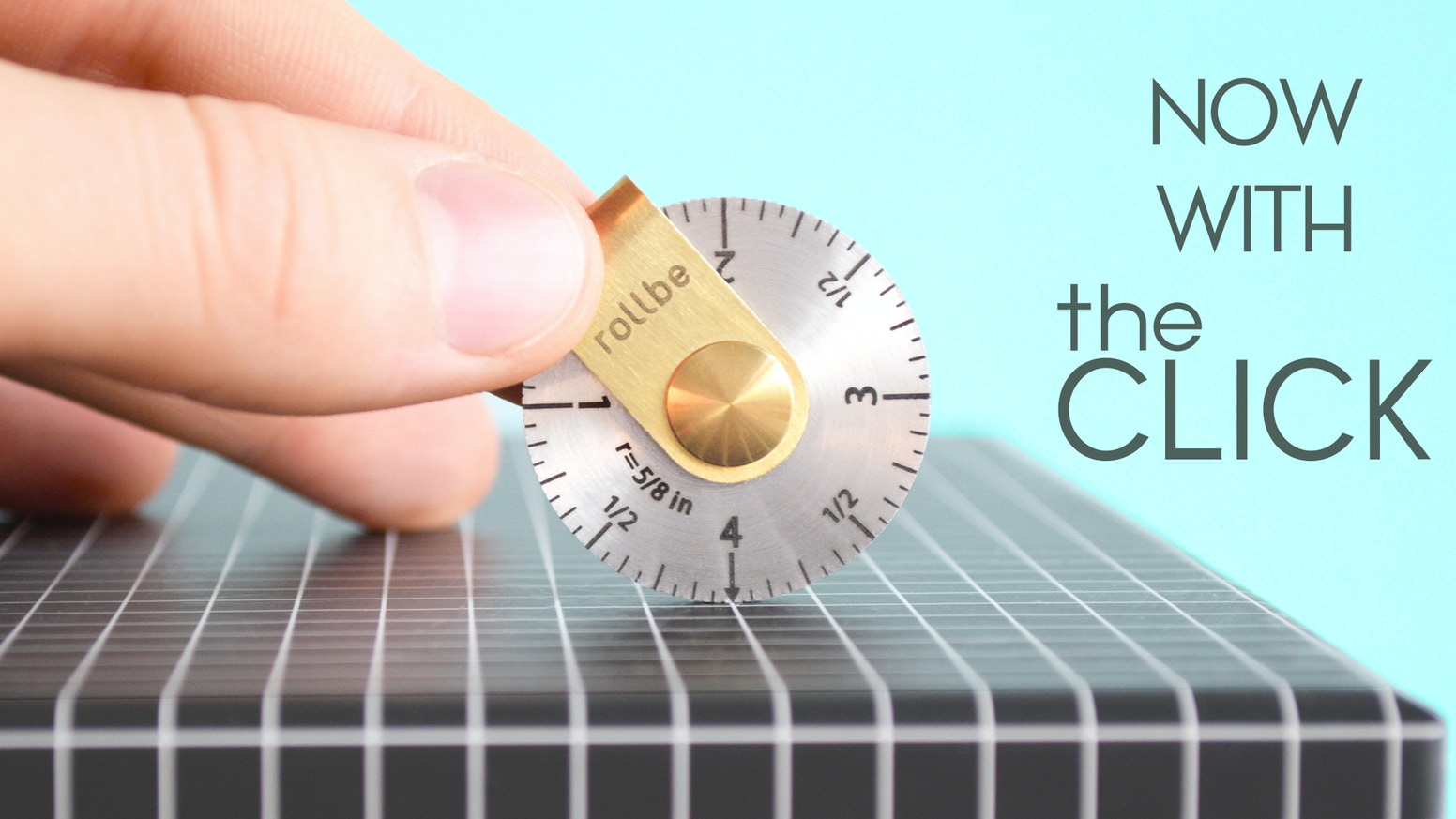 Stainless steel ruler, designed to measure just about anything and easily fit in your pocket.