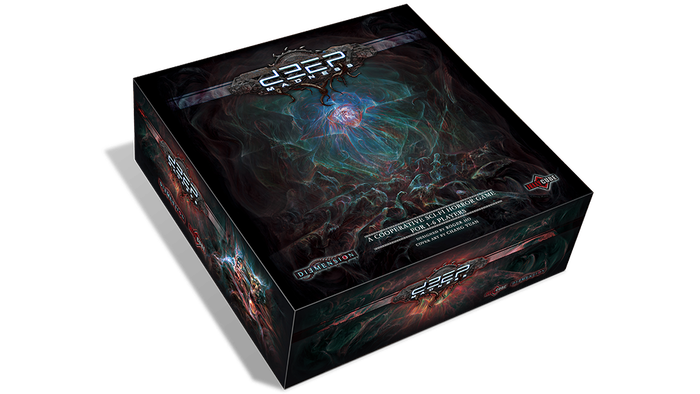 A co-operative game for 1-6 players with amazingly detailed miniatures, depicting a sci-fi horror world inspired by Lovecraft's work.