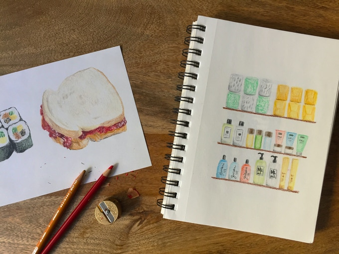 Lunchbox moment and hoarding toiletries