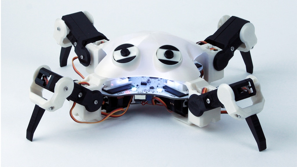 QuadBot - Now ANYONE can Master Robotics project video thumbnail