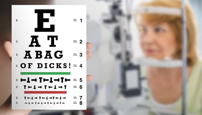 Doctors recommend getting your vision checked once every two years.