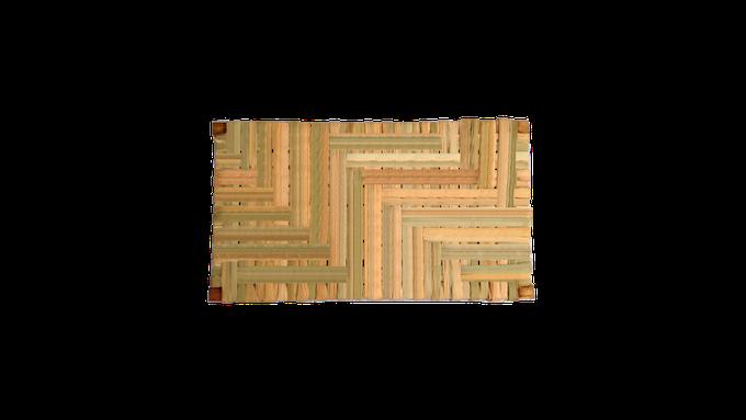 """Medidas: 45 (X) x 30 (Y) x 5 (Z) cm // Dimensions: 1' 5.72"""" (W) x 11.8"""" (H) x 1.97 """" (D)"""