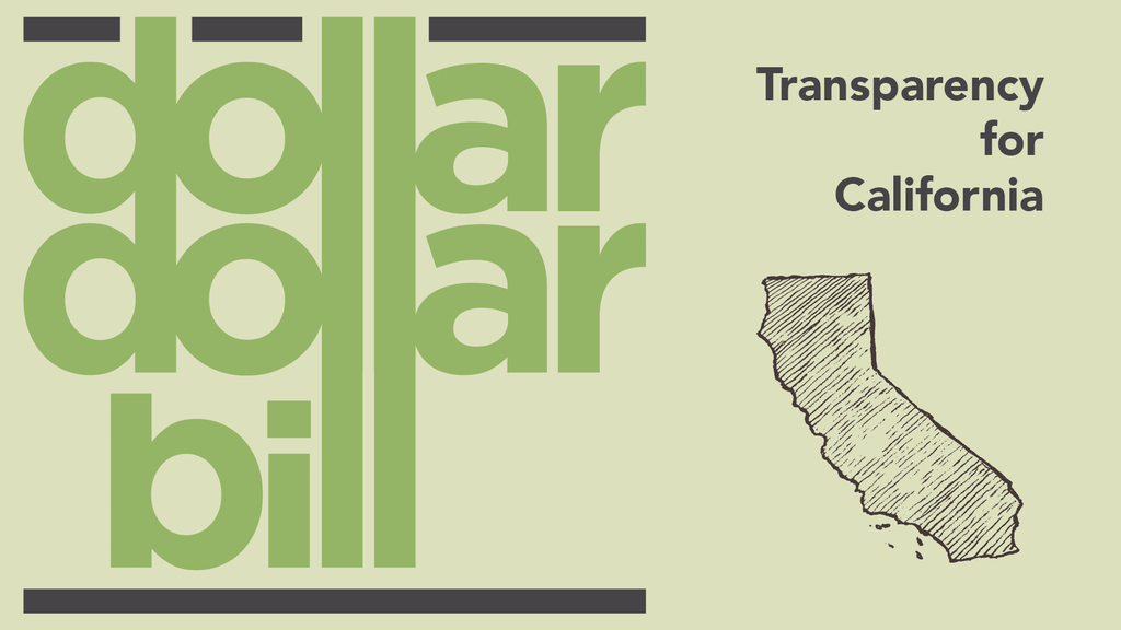 Dollar Dollar Bill — Bringing Transparency to CA Elections project video thumbnail