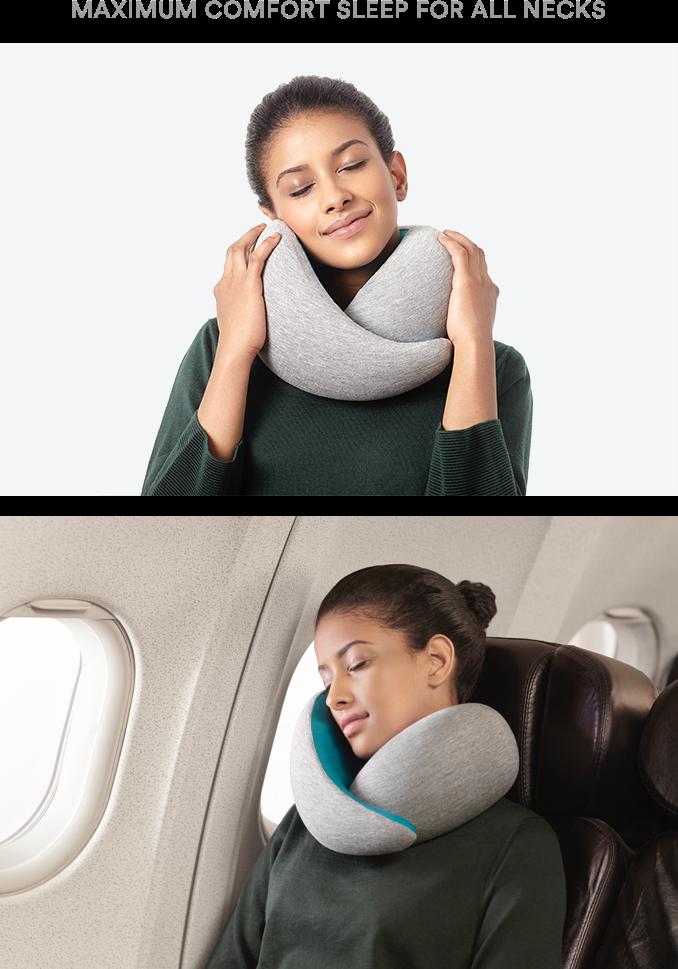 ostrich pillow go maximum comfort sleep for all necks by studio banana kickstarter. Black Bedroom Furniture Sets. Home Design Ideas
