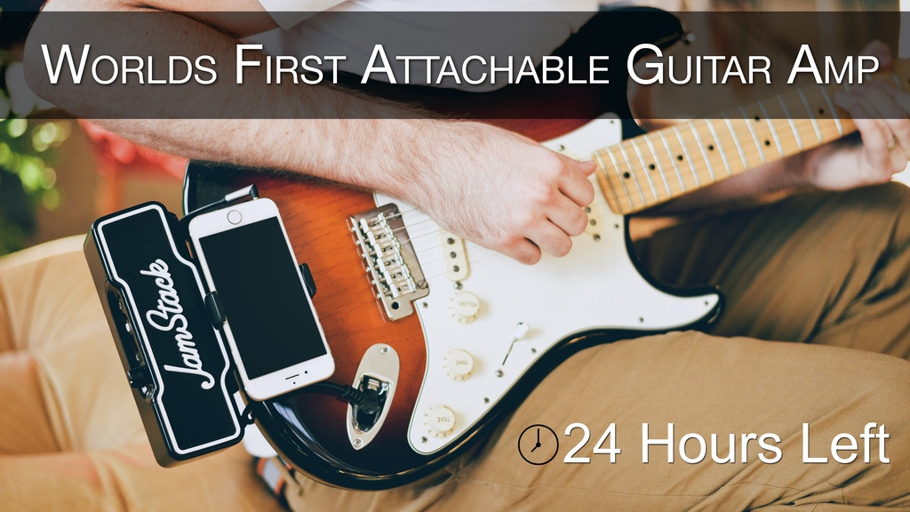 JamStack - The World's First Attachable Guitar Amplifier project video thumbnail