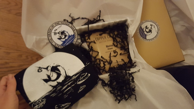 Image from previous Kickstarter rewards going out!
