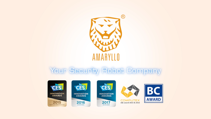 Amaryllo is a proud winner of CES Innovation Awards from 2015 to 2017.