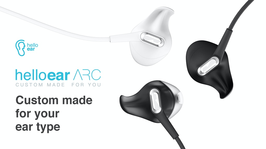 HelloEar Arc: The world's most comfortable custom earphones project video thumbnail