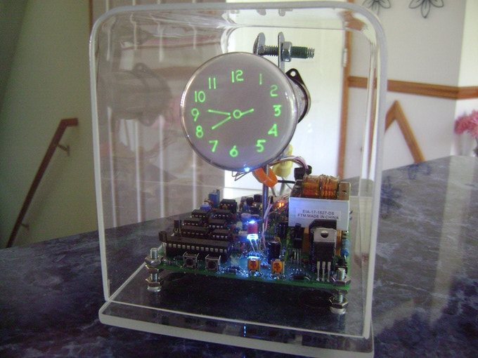 The OSC4.7 scope clock using the 2BP1/2AP1 CRT