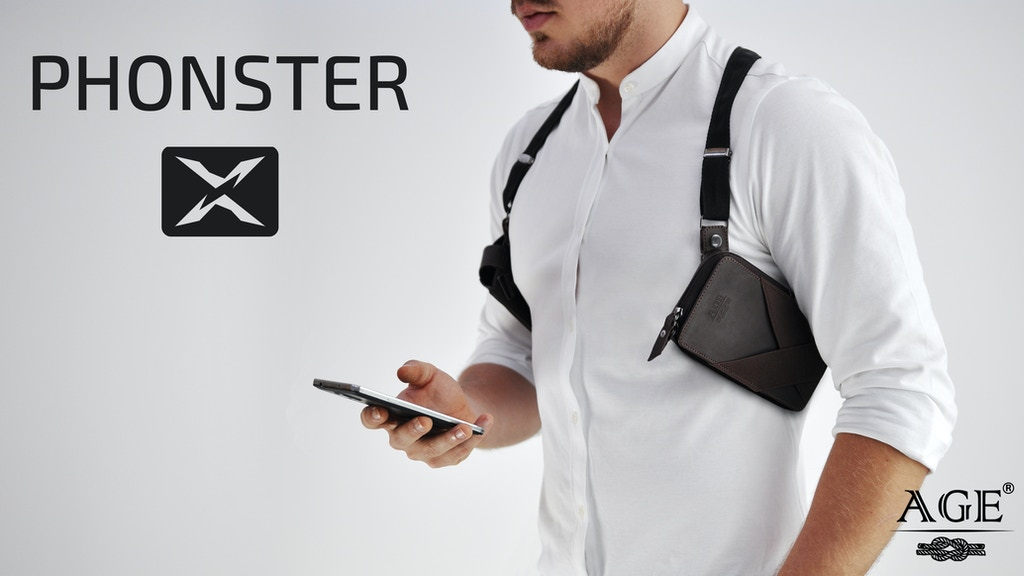 Phonster X - the best phone holster is back on Kickstarter! by