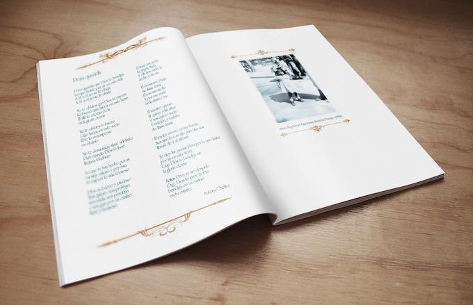 El libro incluye increíbles fotografías de época y piezas de poesía local