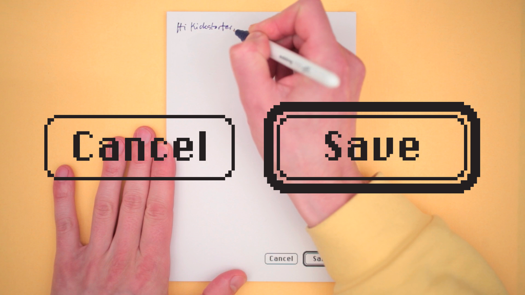Cancel / Save Notepad project video thumbnail