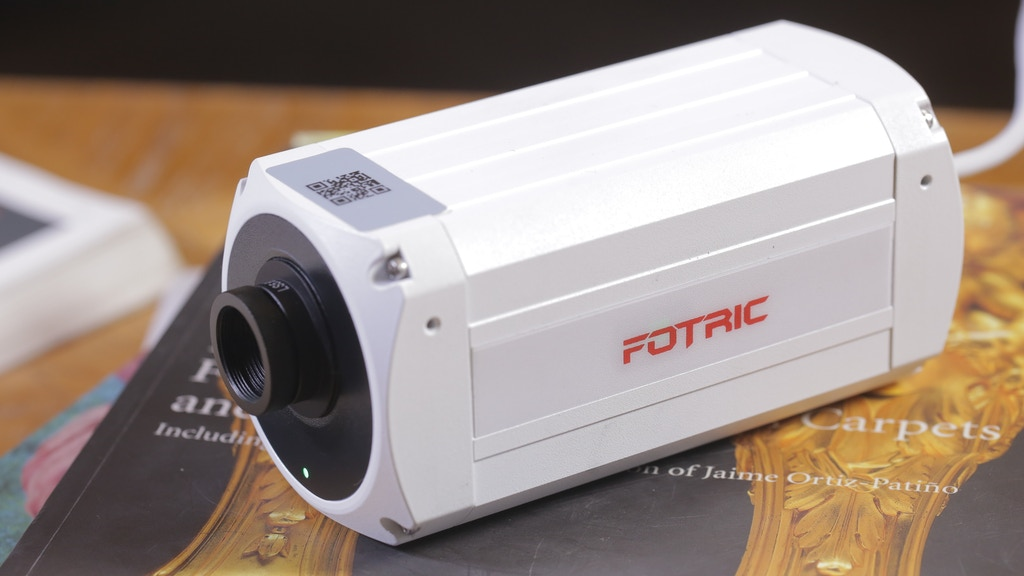 Fotric 123: Cloud-Based Thermal Camera for Early Fire Alert project video thumbnail