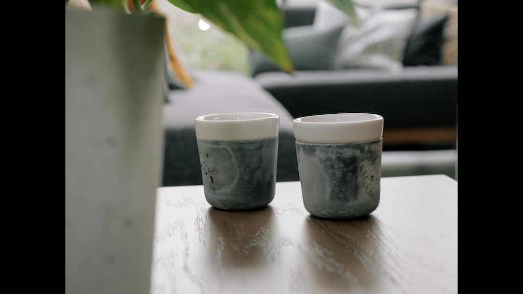 Nido cups objetos sensibles hechos con concreto by nido for Objetos hechos con marmol